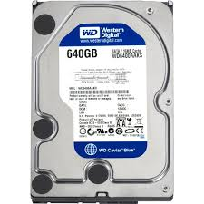 Western Digital 640 GB SATA DRive